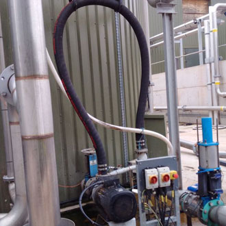 New Landia slurry pump works wonders at dairy farmer's AD plant