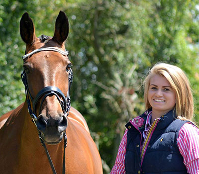 Rebecca Storey, from specialist country and equestrian store Houghton Country