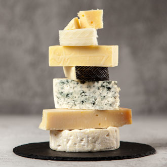 A selection of cheese food trends