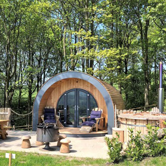 Catgill Farm Diversification - Glamping Pods