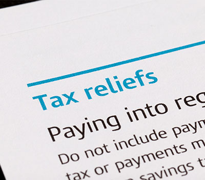 inheritance tax - Tax Relief forms