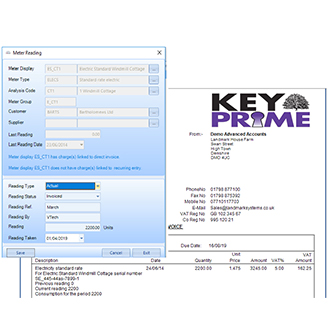 Landmark Systems KEYPrime accounting software