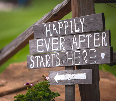 Happily ever after sign - How to convince family to diversify your farm