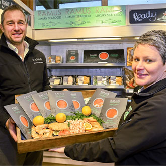 Staff from Fodder and Ramus Seafood join forces in historic move