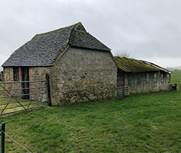 Planning permission was granted on this farmhouse after an appeal