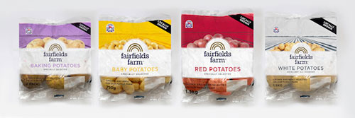 Fairfields Farm Potato Products from the Co-Op
